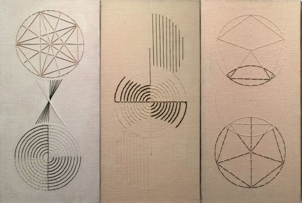 Segments of Light (Triptych)