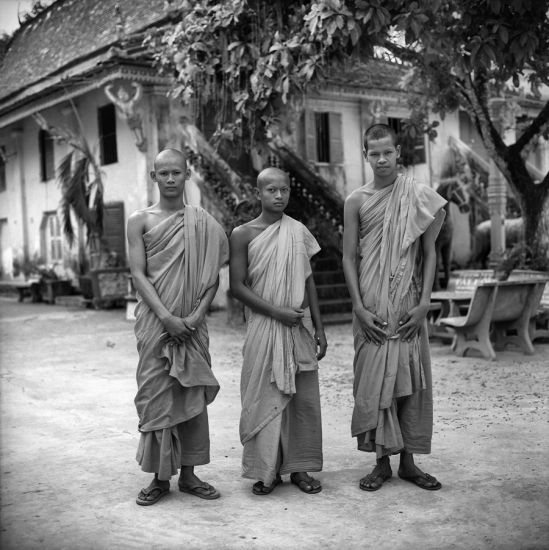 3 Khmer Monks